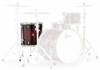 Gretsch 14x14 Floor Tom Satin Deep Cherry Burst Catalina Maple Add-On (HL-00776739)
