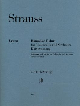 Romance in F Major (for Cello and Piano Reduction) (HL-51481468)