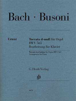 Toccata in D Minor for Organ, BWV 565: Arrangement for Piano (HL-51481479)