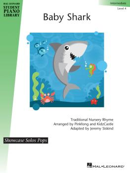 Baby Shark: Showcase Solos Pops Series Intermediate Level (HL-00364211)