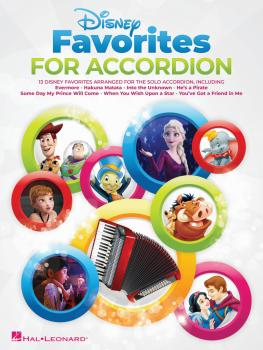 Disney Favorites for Accordion (HL-00346565)