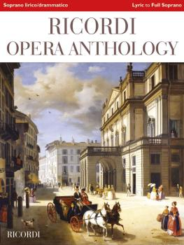 Ricordi Opera Anthology: Soprano, Volume 2: Lyric to Full Lyric Sopran (HL-50602117)