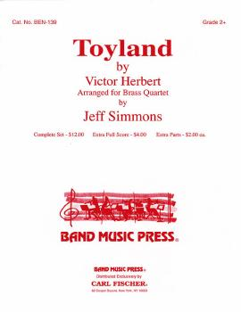 Toyland (for Brass Quartet) (HL-00190091)
