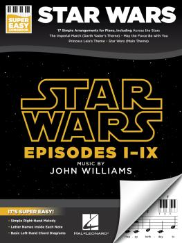 Star Wars - Super Easy Songbook (HL-00345560)