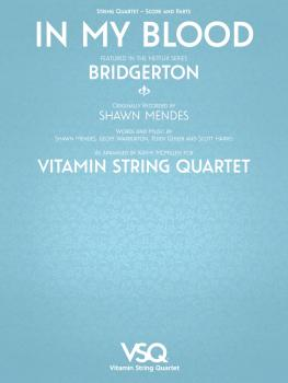 In My Blood - Vitamin String Quartet from Bridgerton (for String Quart (HL-00364634)