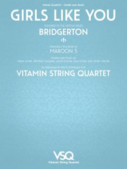 Girls Like You - Vitamin String Quartet from Bridgerton (for String Qu (HL-00364636)