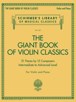 Giant Book of Violin Classics (Violin and Piano) (HL-50603630)