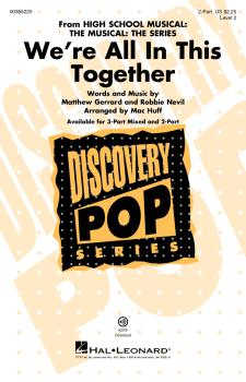 We're All In This Together (from HS Musical: The Musical: The Series)  (HL-00355220)
