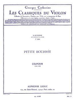 Petite Bourree - Classiques No. 350 (for Violin and Piano) (HL-48180956)