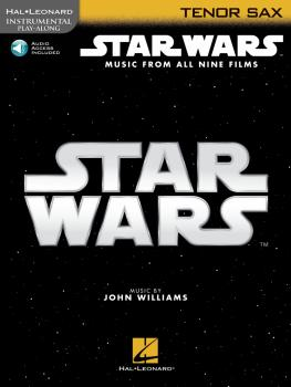 Star Wars - Instrumental Play-Along for Tenor Sax: Music from All Nine (HL-00350905)
