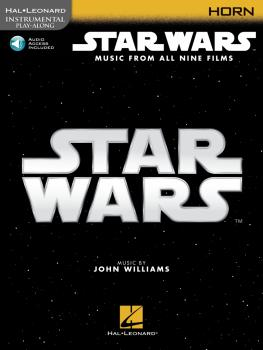 Star Wars - Instrumental Play-Along for Horn: Music from All Nine Film (HL-00350907)