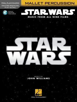 Star Wars - Instrumental Play-Along for Mallet Percussion: Music from  (HL-00350914)