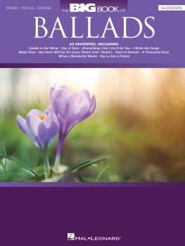 The Big Book of Ballads - 3rd Edition (HL-00357998)