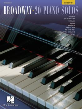 Broadway - 20 Piano Solos (3rd Edition) (HL-00359470)