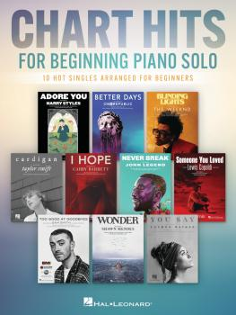 Chart Hits for Beginning Piano Solo (HL-00362594)