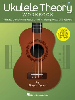 Ukulele Theory Workbook: An Easy Guide to the Basics of Music Theory f (HL-00265162)