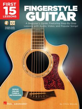 First 15 Lessons - Fingerstyle Guitar (HL-00293888)