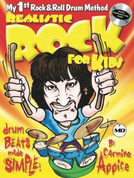Realistic Rock for Kids: My 1st Rock & Roll Drum Method Drum Beats Mad (HL-00364360)