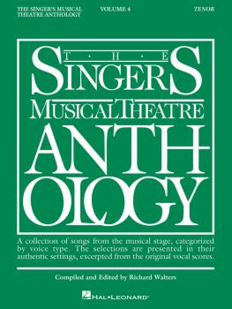 Singer's Musical Theatre Anthology - Volume 4 (Tenor Book Only) (HL-00000395)