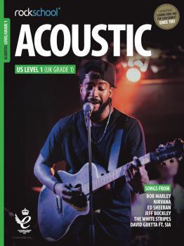 Rockschool Acoustic Guitar Level 1 (HL-00360466)