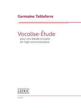 Vocalise Etude (for High Voice and Piano) (HL-00325766)