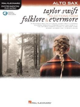 Taylor Swift - Selections from Folklore & Evermore: Alto Sax Play-Alon (HL-00364062)