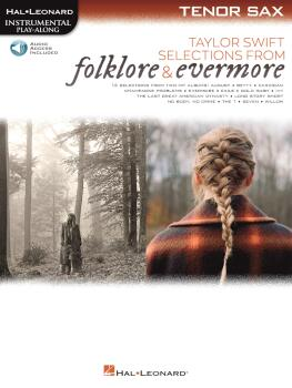 Taylor Swift - Selections from Folklore & Evermore: Tenor Sax Play-Alo (HL-00364063)