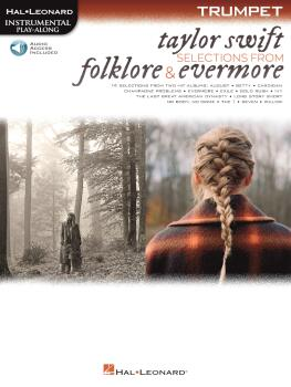 Taylor Swift - Selections from Folklore & Evermore: Trumpet Play-Along (HL-00364064)