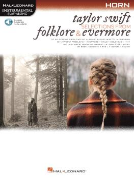 Taylor Swift - Selections from Folklore & Evermore: Horn Play-Along Bo (HL-00364065)