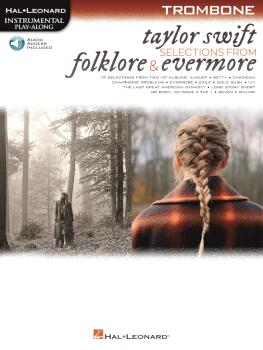 Taylor Swift - Selections from Folklore & Evermore: Trombone Play-Alon (HL-00364066)