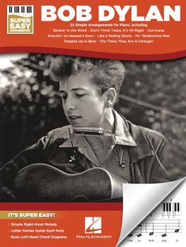 Bob Dylan - Super Easy Songbook (HL-00364487)