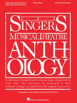 Singer's Musical Theatre Anthology - Volume 4: Baritone/Bass Book Only (HL-00000396)