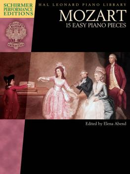 Mozart - 15 Easy Piano Pieces: Schirmer Performance Editions Book Only (HL-00297088)