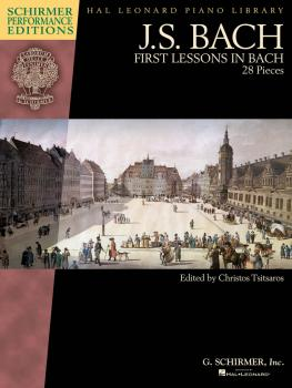First Lessons in Bach: Schirmer Performance Editions Book Only (HL-00297090)