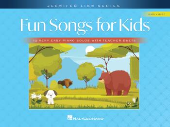 Fun Songs for Kids: 12 Very Easy Piano Solos with Teacher Duets (HL-00366366)