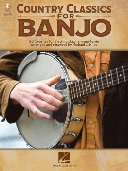 Country Classics for Banjo: 20 Favorites for 5-String Clawhammer Banjo (HL-00327372)
