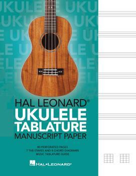 Hal Leonard Ukulele Tablature Manuscript Paper (HL-00367881)