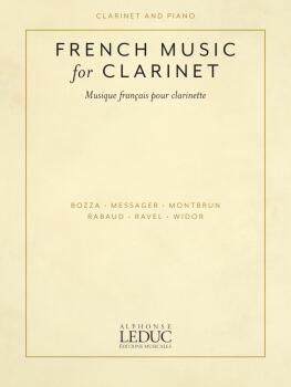French Music for Clarinet (Clarinet and Piano) (HL-50603271)