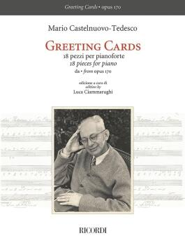 Greeting Cards for Piano, Op. 170 (18 Pieces for Piano) (HL-50603783)