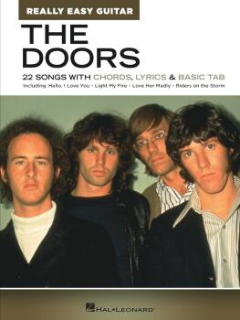 The Doors - Really Easy Guitar Series: 22 Songs with Chords, Lyrics &  (HL-00345890)