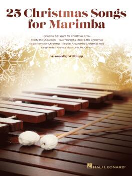 First 50 Christmas Songs You Should Play on Marimba (HL-00348550)