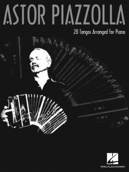 Astor Piazzolla for Piano (HL-00306709)