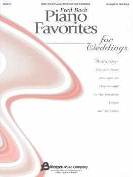 Fred Bock Piano Favorites for Weddings (Piano Solo) (HL-00310633)