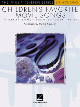 Children's Favorite Movie Songs: The Phillip Keveren Series Big-Note P (HL-00310838)