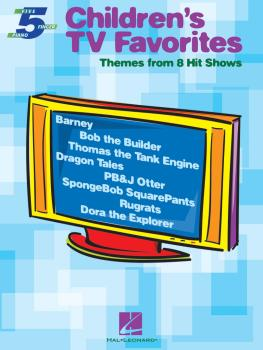 Children's TV Favorites: Themes from 8 Hit Shows (HL-00311208)