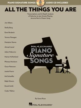 All the Things You Are: Transcriptions and In-Depth Analysis of Solos  (HL-00311426)