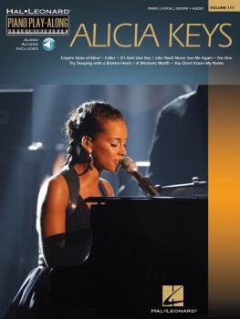 Alicia Keys: Piano Play-Along Volume 117 (HL-00312306)