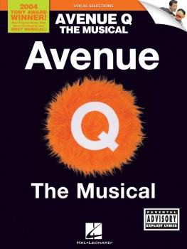 Avenue Q: Vocal Line with Piano Accompaniment (HL-00313285)