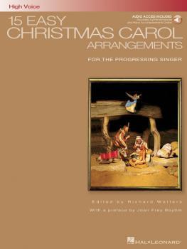 15 Easy Christmas Carol Arrangements - High Voice (for the Progressing (HL-00000459)