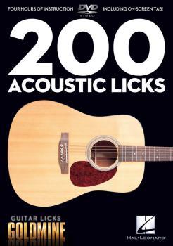 200 Acoustic Licks: Guitar Licks Goldmine (HL-00320933)